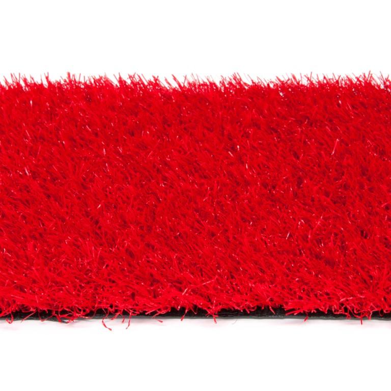 Rood kunstgras