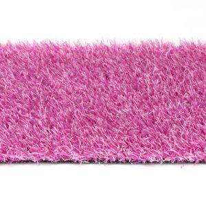 Roze kunstgras